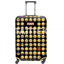 """Чехол на чемодан """"ITATI"""" Артикул: Смайлики"""