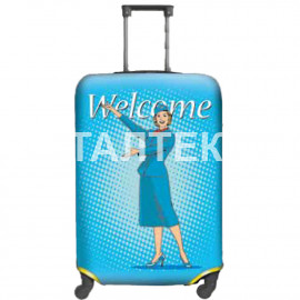 """Чехол на чемодан """"ITATI"""" Артикул: Добро пожаловать"""