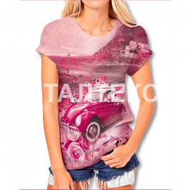 "Прикольная женская футболка ""ITATI"" Артикул: Романтика"
