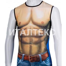 "Прикольная мужская футболка ""ITATI"" Артикул: Мачо"