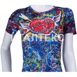 """Прикольная женская футболка """"ITATI"""" Артикул: Ромео и Джульетта"""