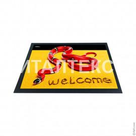 """Придверный резиновый коврик 40х60 с 3D эффектом """"ITATI"""" Артикул: Змейка"""