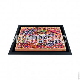 """Придверный резиновый коврик 40х60 с 3D эффектом """"ITATI"""" Артикул: Дом, милый дом"""