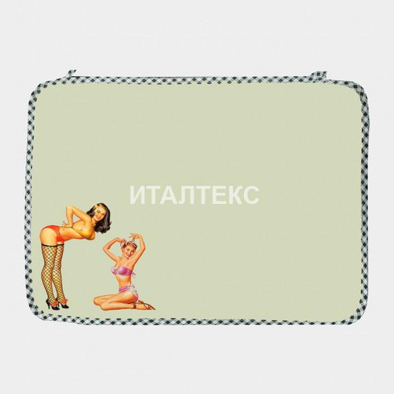 """Комплект обеденных салфеток 2 штуки """"ITATI"""" Артикул: Девушки 60-х"""