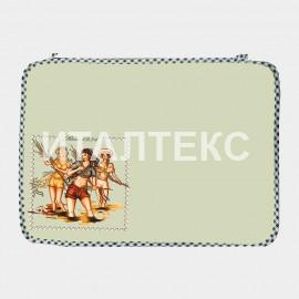 """Комплект обеденных салфеток 2 штуки """"ITATI"""" Артикул: Девушки на рисовом поле"""