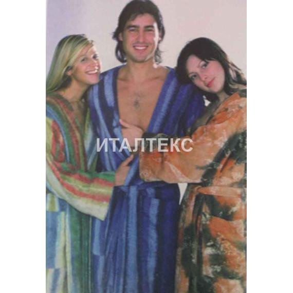 """Женский махровый халат с капюшоном """"ROSSI"""" Артикул: Эксель"""
