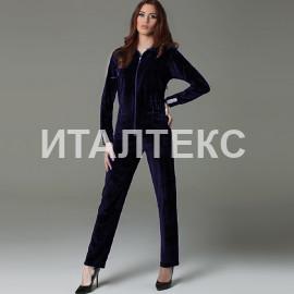 """Бархатный женский домашний костюм """"DIVAS"""" Артикул: CN-208"""