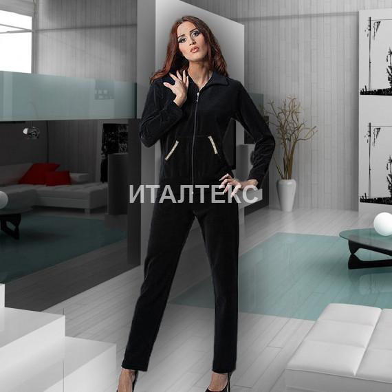 """Бархатный женский домашний костюм """"DIVAS"""" Артикул: CN-180"""