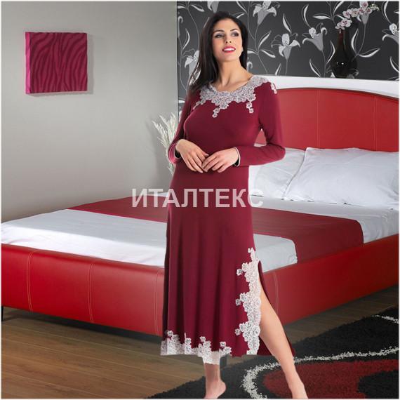 "Женская ночная сорочка ""VENUS"" Артикул: 5712 (цвет серый)"
