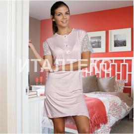 """Женская ночная сорочка """"LA BIRBA"""" Артикул: 964 (розовый)"""