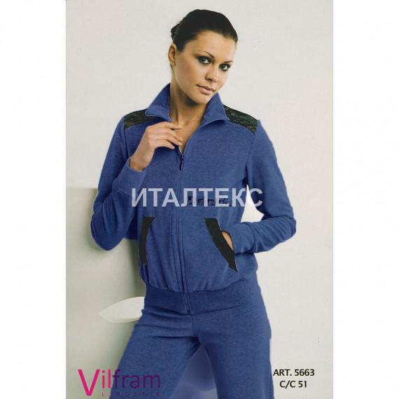 """Велюровый женский домашний костюм """"VILFRAM"""" Артикул: 5663"""